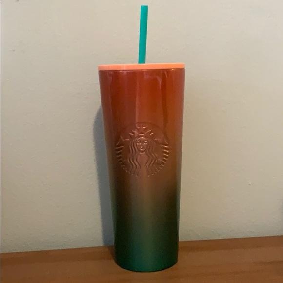 Starbucks 24oz ombre insulated tumbler!